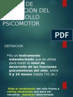 ESCALA DE EVALUACIÓN DEL DESARROLLO  PSICOMOTOR.pptx