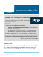 IG 2000 Managing the Internal Audit Activity (1)