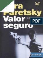 Valor Seguro - Sara Paretsky