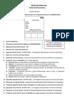 Estructura Portafolio de Evidencias Evs Etc
