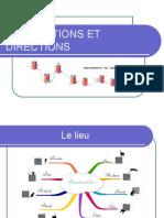 Prépositions Et Directions