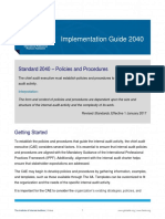 IG 2040 Policies and Procedures