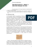 Práctica 5 - Deformación Plástica - Laminación Trabajo
