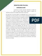 Orígenes Históricos de La Deontología Policial