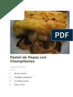 Pastel de Papas con Champiñones.docx