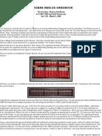 Soroban Abacus Handbook