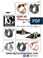 BG Saxophone Ligature Guide