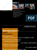 Fluid Particle Separations