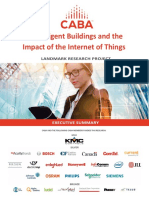 Intelligent Buildings and the Impact of the IoT - Exec Summary