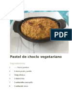 Pastel de Choclo Vegetariano