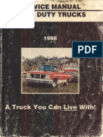 1986 GM CK Service Manual
