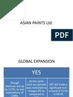 236216981 Asian Paints Ltd Global Expansion Case Study