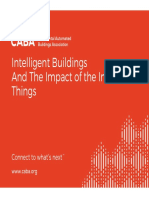 Intelligent Buildings and the Impact of the IoT