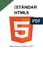 El Estándar HTML5