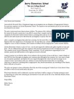 Liberty Parent Letter