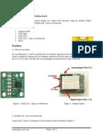 Nivel Electronico Con Arduino