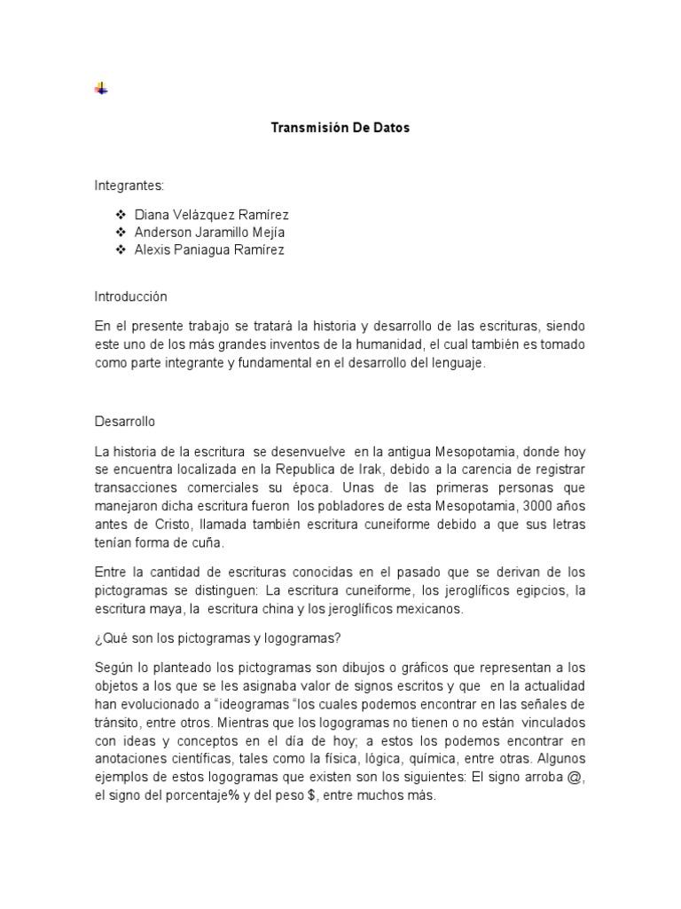 Bonito Plantilla De Escritura De Transmisión Ilustración - Ejemplo ...