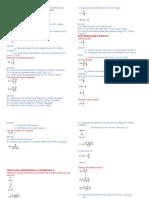 Formulario de Resistencia de Materiales i