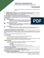 Estadística descriptiva - Métodos Estadísticos Aplicados a las Auditorías Socio-laborales, Francisco Álvarez G, ESPA 47p.pdf