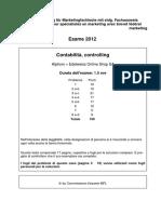 SM Contabilità Controlling 2012 IT