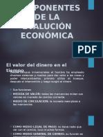 COMPONENTES DE LA EVALUCIÓN ECONÓMICA.pptx