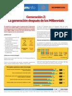 Generación Z vs Millennials