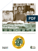 Selecting Methods and Materials