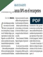 10-02-17 Monterrey avanza 50% en el recarpeteo