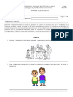 Examen de Suficiencia Inglés