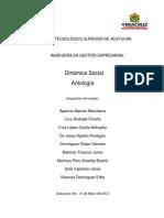 Antología Dinámica Social