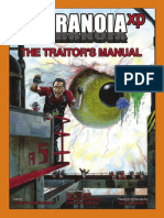 Paranoia XP - The Traitor's Manual