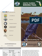 Great Florida Birding Trail Map - South Section