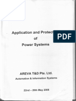 Application Protection of Power System Areva