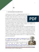 ARISTOTELES PENSAMIENTO FILOSOFICO