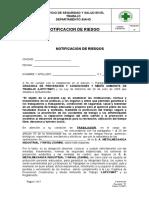 Instrucciones de Prevencion Para Trabajos Con Nitrogeno