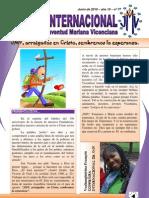 Boletin Internacional JMV - Junio 2010
