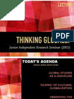 thinking globally jirs 2017