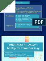 Multiplex Testing in Immunoassay - Dr. Budi Santosa, M.si, Med
