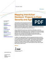 About Food Security Mapping One-Pager