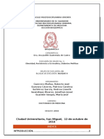 Discusion N.3, Bloque II, D5, Diabetes Mellitus
