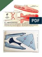 Vintage Paper Planes 05