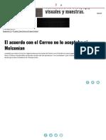 El Acuerdo Con El Correo No Lo Aceptaba Ni Melconian _ Página12 _ La Otra Mirada