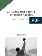 Dificultad Respiratoria RN