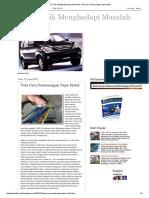 Tips & Trik Menghadapi Masalah Mobil_ Tata Cara Pemasangan Tape Mobil.pdf