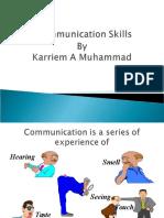 Effective Conservation Skills | Karriem A Muhammad