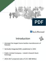 Gul Ahmed Corporate Profile