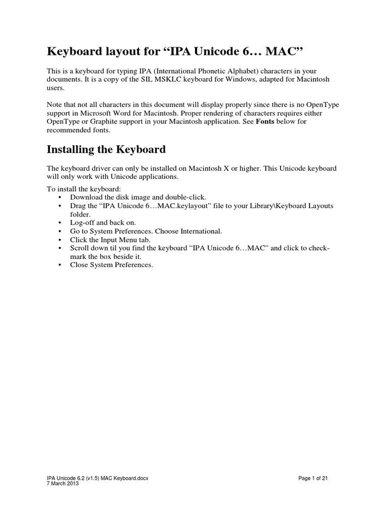 Ipa unicode 62 v15 mac keyboardpdf phonology phonetics biocorpaavc Images