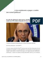 E Se Os Mais Ricos Ajudassem a Pagar o Rombo Nas Contas Públicas_ _ Economia _ EL PAÍS Brasil