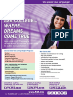 ASA College Fact Sheet En