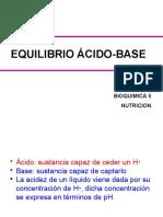 Equilibrio Acido Base Buffers (1)